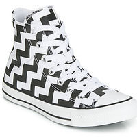 Skor Dam Höga sneakers Converse CHUCK TAYLOR ALL STAR GLAM DUNK CANVAS HI Svart / Vit