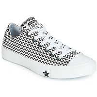 Skor Dam Sneakers Converse CHUCK TAYLOR ALL STAR VLTG LEATHER OX Vit / Svart