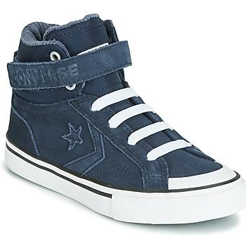 Skor Barn Höga sneakers Converse PRO BLAZE STRAP SPACE RIDE SUEDE HI Blå