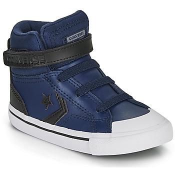 Skor Barn Höga sneakers Converse PRO BLAZE STRAP MARTIAN LEATHER HI Blå / Svart