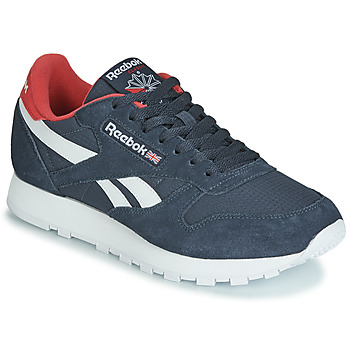 Skor Sneakers Reebok Classic CL LEATHER MU Marin / Röd
