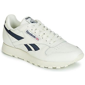 Skor Sneakers Reebok Classic CL LEATHER MU Vit / Svart