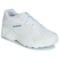 Skor Dam Sneakers Reebok Classic AZTREK Vit / Blå