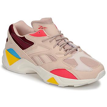 Skor Dam Sneakers Reebok Classic AZTREK 96 Beige