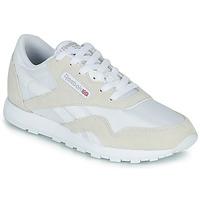 Skor Barn Sneakers Reebok Classic CL NYLON J Vit / Beige
