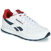 Skor Barn Sneakers Reebok Classic CLASSIC LEATHER J Vit / Röd