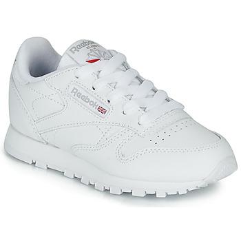 Skor Barn Sneakers Reebok Classic CLASSIC LEATHER C Vit