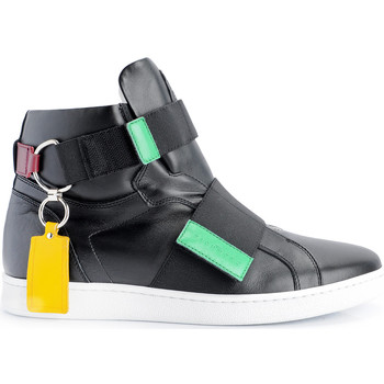 Skor Herr Höga sneakers John Richmond  Svart