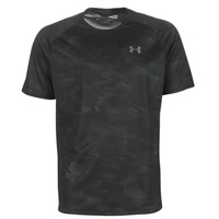 textil Herr T-shirts Under Armour TECH 2.0 SS PRINTED Svart