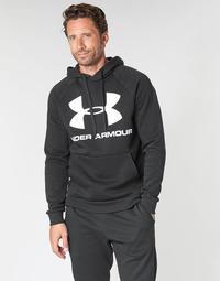 textil Herr Sweatshirts Under Armour RIVAL FLEECE SPORTSTYLE LOGO HOODIE Svart