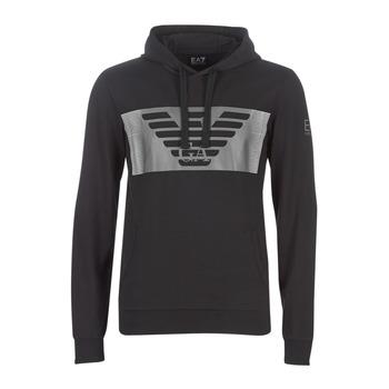 textil Herr Sweatshirts Emporio Armani EA7 6GPM56-PJ05Z-1202 Svart