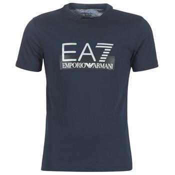 textil Herr T-shirts Emporio Armani EA7 GPT81-PJM9Z-1554 Marin