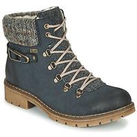 Skor Dam Boots Rieker Y9131-16 Blå