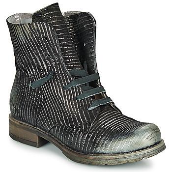 Skor Dam Boots Papucei MAURA BLACK SILVER Svart