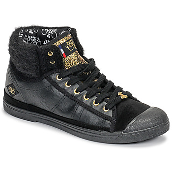 Skor Dam Höga sneakers Le Temps des Cerises BASIC 03 Svart