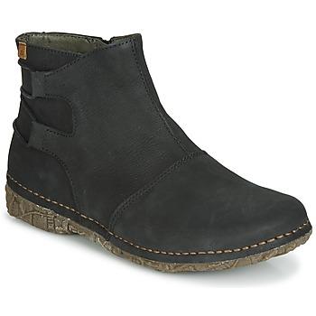 Skor Dam Boots El Naturalista ANGKOR Svart