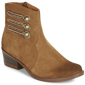 Skor Dam Boots Mam'Zelle JUDITH Cognac