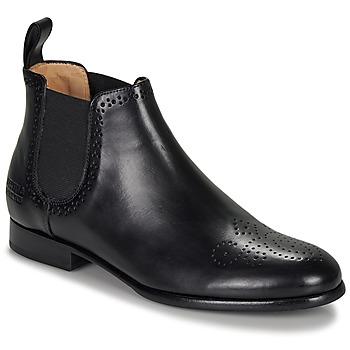 Skor Dam Boots Melvin & Hamilton SALLY Svart