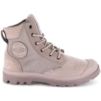 Skor Dam Boots Palladium Manufacture Pampa Sport Cuff Wpn Gråa