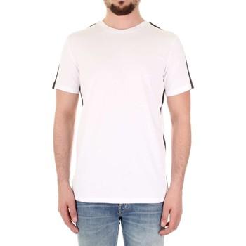 textil Herr Kortärmade pikétröjor Selected 16066621 Bianco