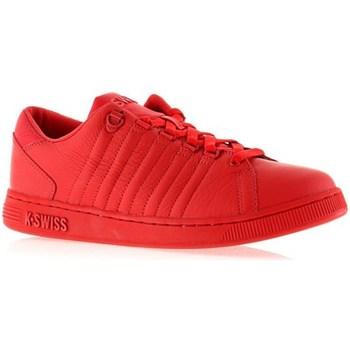 Skor Dam Sneakers K-Swiss Lozan Iii Monochrome Röda
