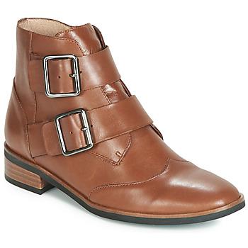 Skor Dam Boots Karston JIRONO Brun