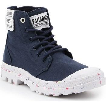 Skor Dam Boots Palladium Manufacture HI Organic W Svarta