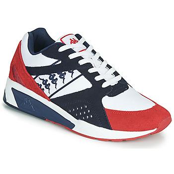 Skor Herr Sneakers Kappa GARKO Vit / Röd / Svart