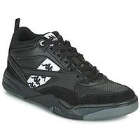 Skor Herr Sneakers Kappa BORIS Svart / Grå