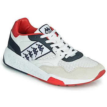 Skor Herr Sneakers Kappa LUXOR 2 Vit / Röd