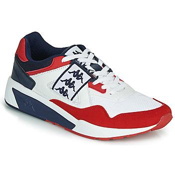 Skor Herr Sneakers Kappa BARSEL 2 Vit / Röd