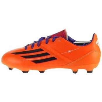 Skor Barn Fotbollsskor adidas Originals F10 Trx FG J Svarta,Orange