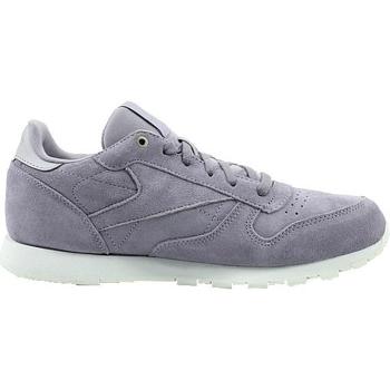 Skor Barn Sneakers Reebok Sport CL Leather Mcc Vit, Gråa