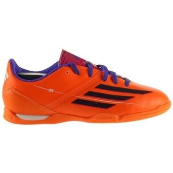 Skor Barn Fotbollsskor adidas Originals F10 IN J Orange, Lila