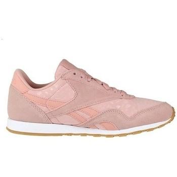 Skor Dam Sneakers Reebok Sport CL Nylon Slim Txt L Rosa