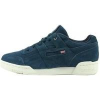 Skor Herr Sneakers Reebok Sport Workout Plus Mcc Vit,Grenade