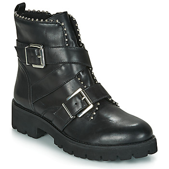Skor Dam Boots Steve Madden HOOFY Svart