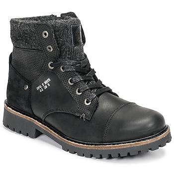 Skor Pojkar Boots Bullboxer AHA518E6L-BLCK Svart