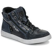 Skor Pojkar Höga sneakers Bullboxer AGM531E6L-NGBLK Marin