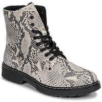 Skor Flickor Boots Bullboxer AHC501E6LEOF-WHKB Grå