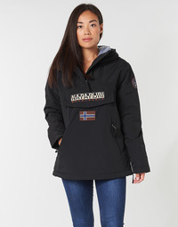 textil Dam Parkas Napapijri RAINFOREST POCKET Svart
