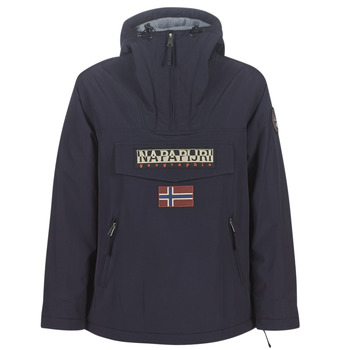 textil Dam Parkas Napapijri RAINFOREST POCKET Marin