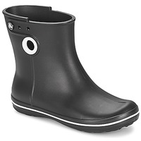 Skor Dam Gummistövlar Crocs JAUNT SHORTY BOOT W-BLACK Svart