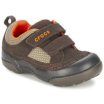 Skor Pojk Sneakers Crocs DAWSON HOOK & LOOP Brun
