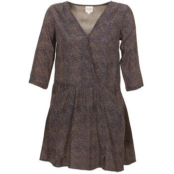 textil Dam Korta klänningar Petite Mendigote CELESTINE Marin