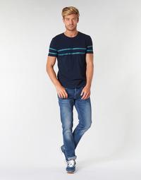 textil Herr Raka byxor Pepe jeans CASH Gs7 / Blå