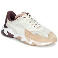 Skor Dam Sneakers Puma STORM ORIGIN NOUGAT Vit