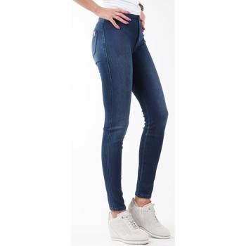 textil Dam Skinny Jeans Wrangler Jegging W27JGM85F navy