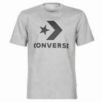 textil Herr T-shirts Converse STAR CHEVRON Grå