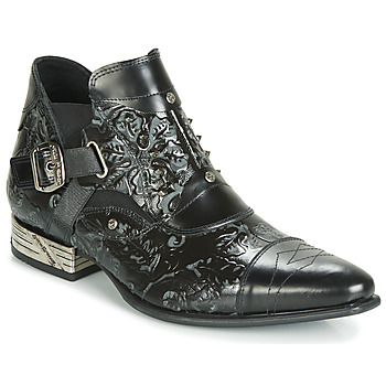 check out 0b1ce 82fa4 Skor Herr Boots New Rock BRAVA Svart